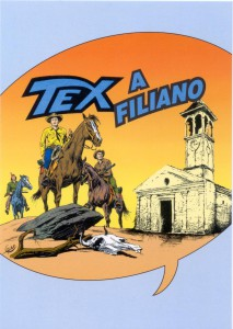 cartolina mostra Tex