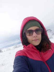 Selfie nella neve!
